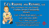 CJ's Roofing and Repairs, LLC