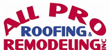 All Pro Roofing & Remodeling Inc.